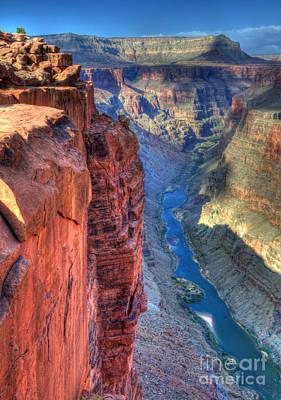 Grand Canyon Awe Inspiring Print by Bob Christopher