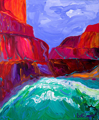 Grand Canyon Painting - Grand Canyon IIi by Beth Cooper