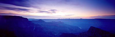 Grand Canyon North Rim At Sunrise Print by Panoramic Images