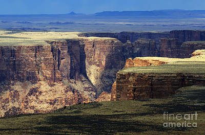 Grand View Of Nature Photograph - Grand Canyon Of The Little Colorado River by Bob Christopher
