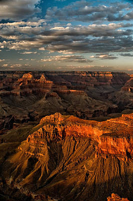 Grand Canyon Photograph - Grand Canyon Sunset by Cat Connor