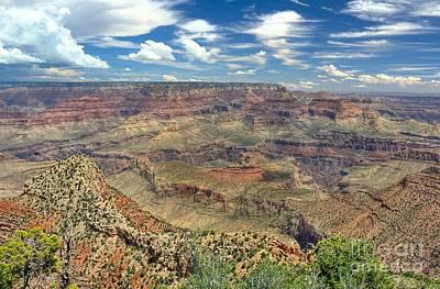 Grand Canyon View Print by John Kelly