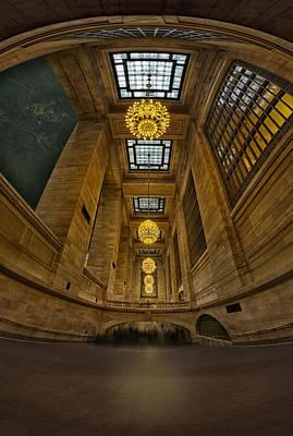 Grand Central Corridor Print by Susan Candelario
