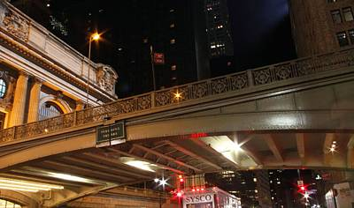 Grand Central Station At Pershing Square Print by Dan Sproul