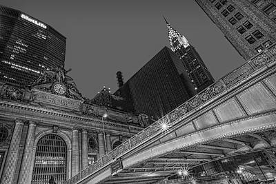 Grand Central Terminal Gct Nyc Print by Susan Candelario