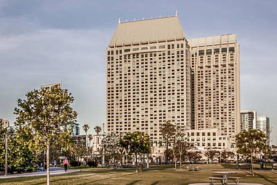 Grand Hyatt San Diego Original by Photographic Art by Russel Ray Photos