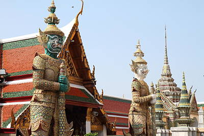 Grand Photograph - Grand Palace In Bangkok Thailand - 01137 by DC Photographer