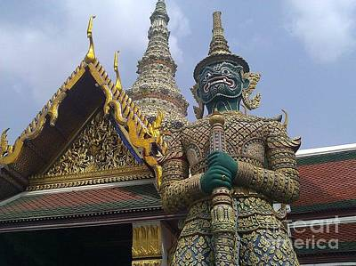 Photograph - Grand Palace Thailand by Ted Williams