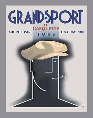 Advertising Digital Art - Grand Sport by Gary Grayson
