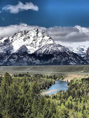 Grand Teton National Park And Snake River Print by Dan Sproul