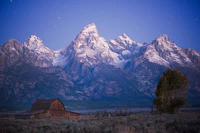 Night Workshop Photograph - Grand Teton Twilight by Mike Berenson