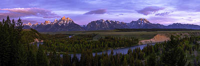 Grand Tetons Print by Chad Dutson