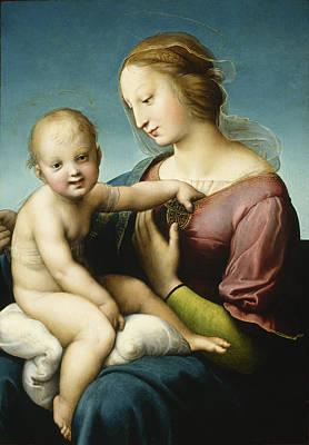Grande Madonna Cowper  Print by Raphael