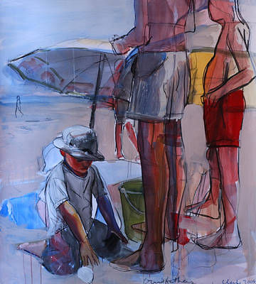 Seaside Mixed Media - Grandfathers by Daniel Clarke