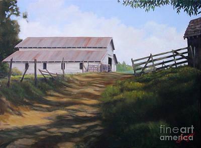 Grandpa Blanchard's Hay Barn Original by Charles Fennen