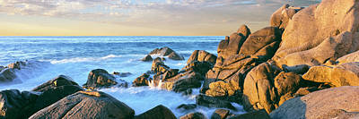 Lands End Photograph - Granite Boulders On The Coast, Lands by Panoramic Images
