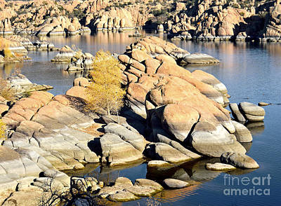 Granite Dells Print by Jim Chamberlain