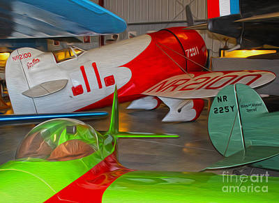Granville Brothers Gee Bee R-1 Racer Print by Gregory Dyer
