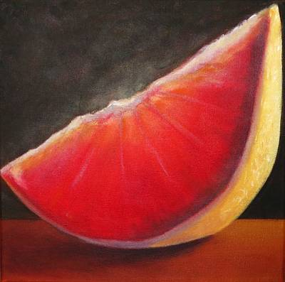Grapefruit  Print by Barbie Baughman