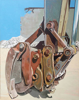 Grapple Painting - Grapple by Jeffrey Bess