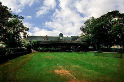 Grass Courts At The Hall Of Fame Print by Michelle Calkins