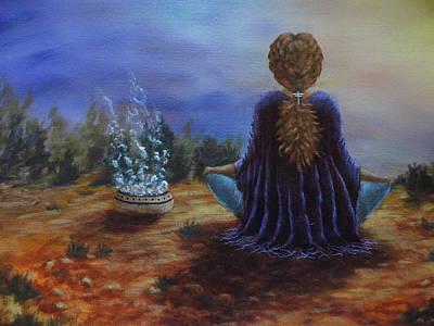 Gratitude Original by Xochi Hughes Madera