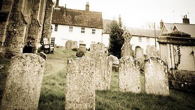 Grave Yard Print by Tom Gowanlock