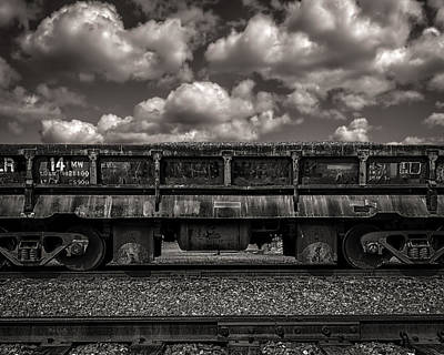 Gravel Train Print by Bob Orsillo
