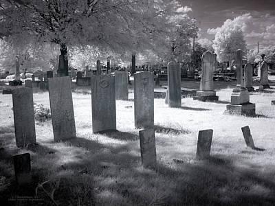 Graveyard Print by Terry Reynoldson