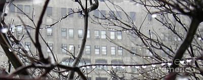 Rainy Day Photograph - Gray City by Sarah Loft