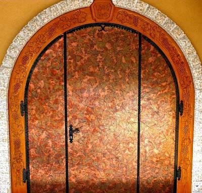 Gray Monk Winery Door Print by Will Borden