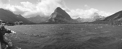 State Of Montana Photograph - Grayscale Of Lake Sherbourne, Many by Panoramic Images
