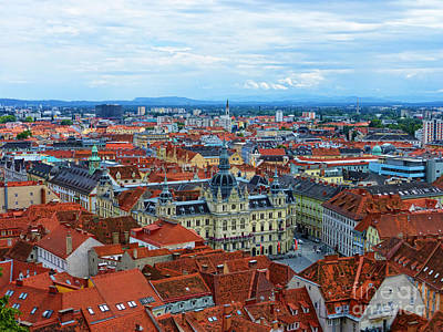 Styria Photograph - Graz Old Town by Mariola Bitner