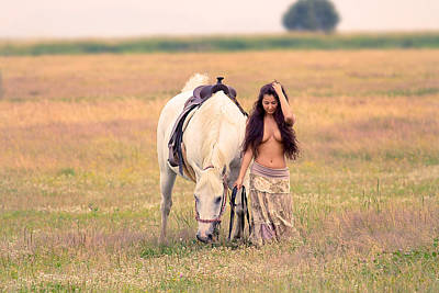 Nudes Photograph - Grazing by Naman Imagery