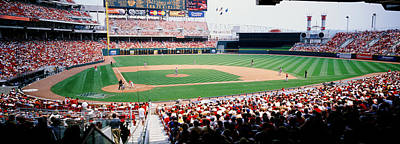 Ohio Photograph - Great American Ballpark Cincinnati Oh by Panoramic Images