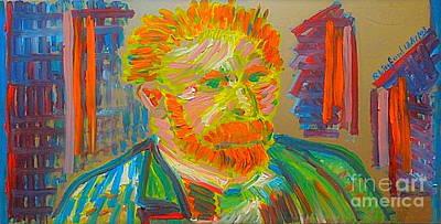 Great Artist Vincent Van Gogh 10 Original by Richard W Linford