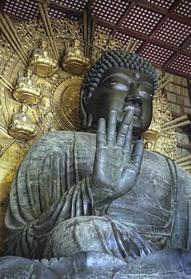 Great Buddha Of Nara Japan Print by Daniel Hagerman