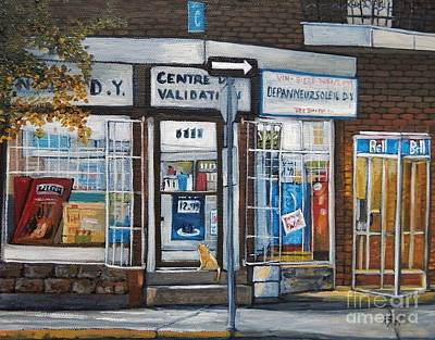 Depanneur Painting - Great Expectations by Reb Frost