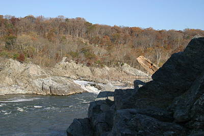 Great Falls Va - 121248 Print by DC Photographer