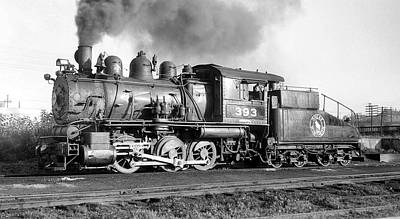 Brakeman Photograph - Great Northern Steam Locomotive No. 393 by Daniel Hagerman