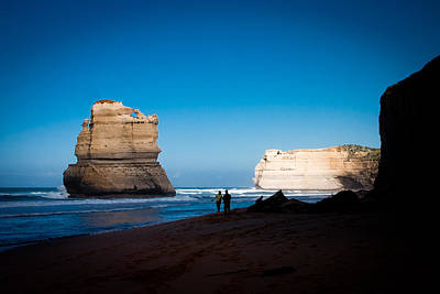 Great Ocean Road Print by Lisa Heppner