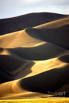 Great San Dunes - Sunset Print by Douglas Taylor