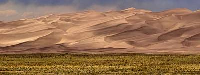 Great Sand Dunes National Park Photograph - Great Sand Dunes In Colorado by Dan Sproul