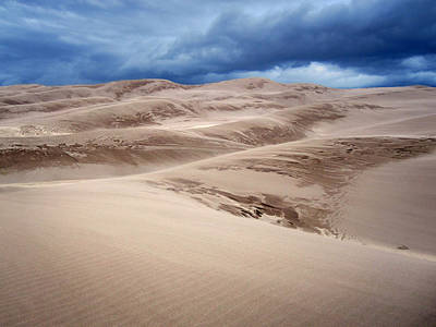 Realistic Photograph - Great Sand Dunes National Park In Colorado by Brett Pfister
