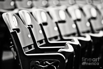 Great Seats Print by Scott Pellegrin