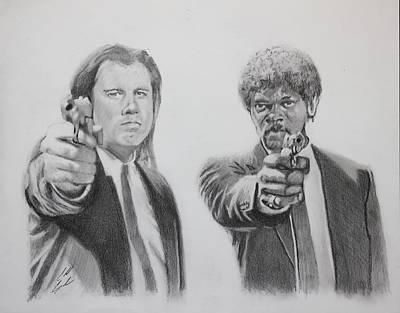 Ezekiel Jackson Drawing - Great Vengeance And Furious Anger by Caleb Goodman