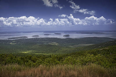 Cadilac Photograph - Great View On Top Of Cadilac Mountain by Randall Nyhof