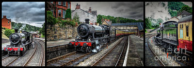 Trolly Photograph - Great Western Locomotive by Adrian Evans
