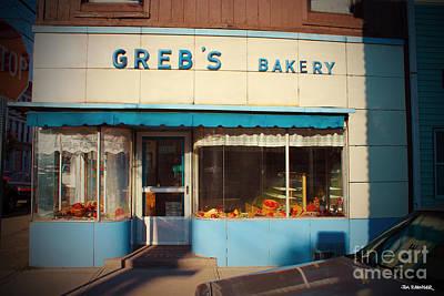 Bakery Digital Art - Greb's Bakery Pittsburgh by Jim Zahniser