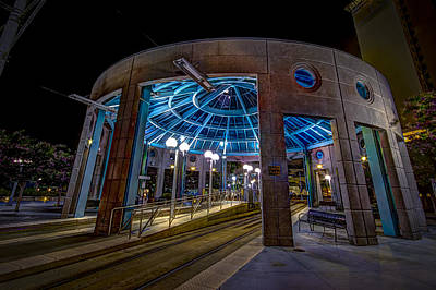 Trolley Photograph - Greco Plaza by Marvin Spates